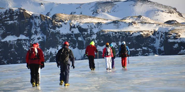 glaciar Sólheimajokull