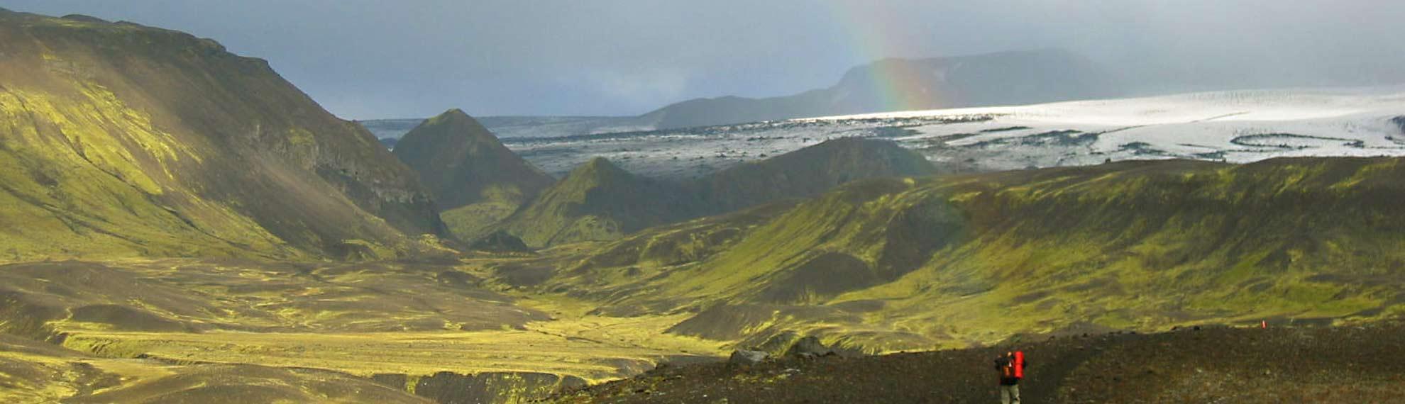 Hiking islandia