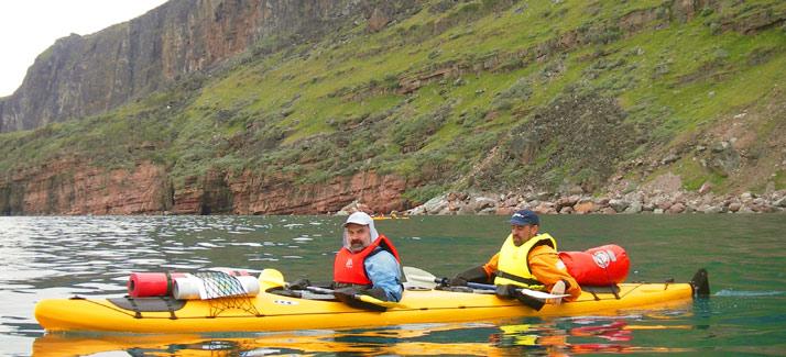 Islandia, fiordos noroeste en kayak