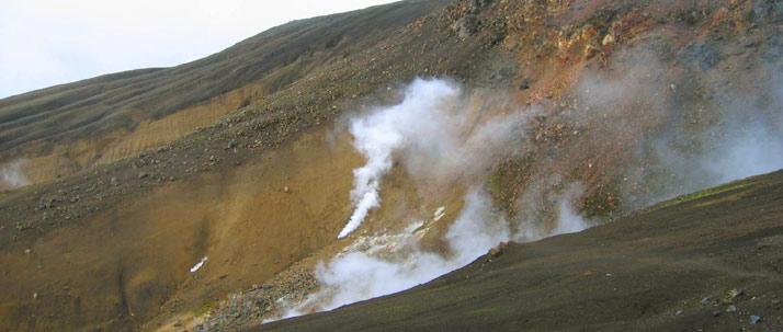Fumarolas lago Mývatn
