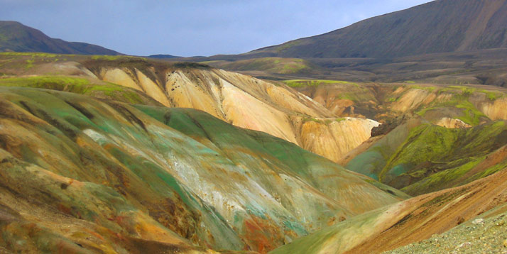 Montañas de riolita, Landmannalaugar