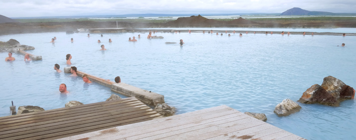 tours Islandia, Jarðböðin