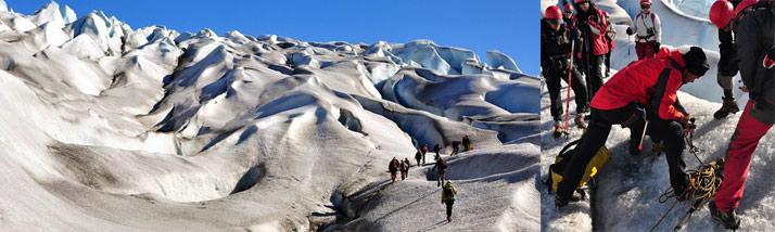 Groenlandia hiking en hielo