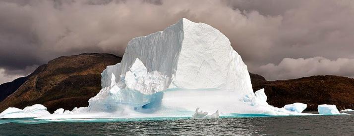 icebergs rumbo a Qaqortoq