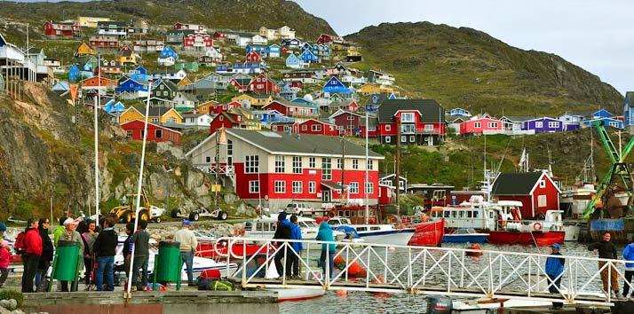 Qaqortoq Groenlandia hotel tour