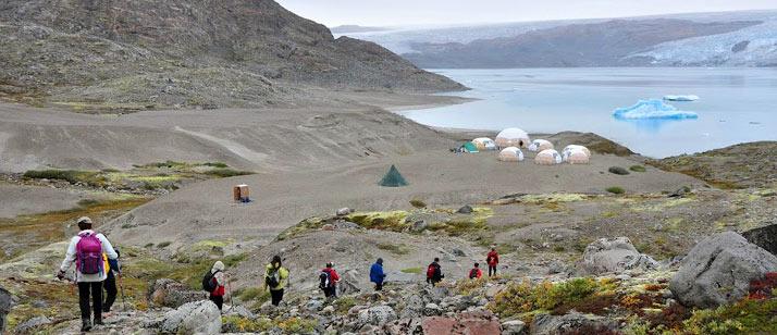 Viaje Groenlandia hiking